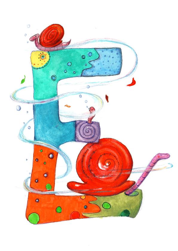 De letter E 1