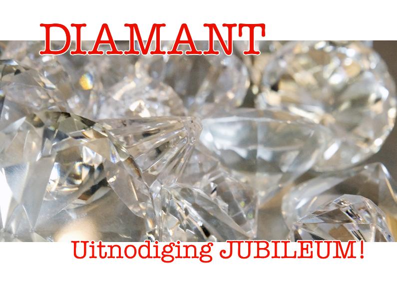 Diamant - Uitnodiging 1