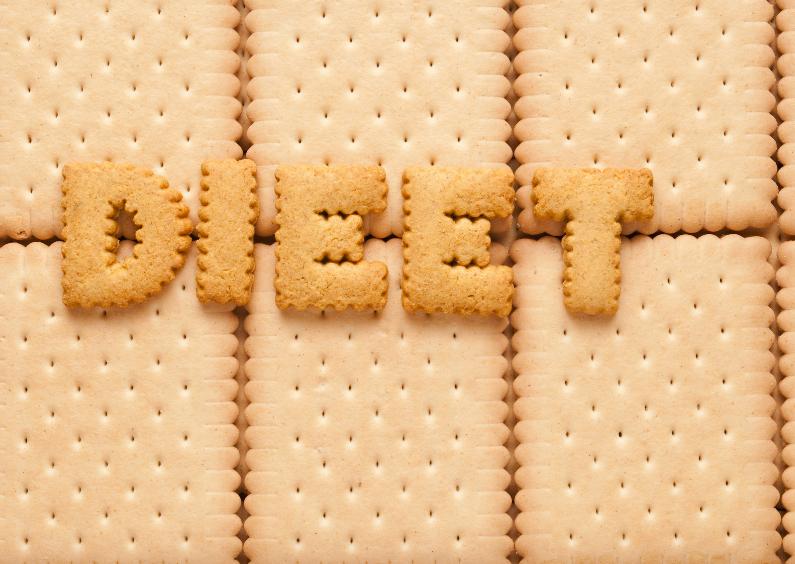 Dieet gemaakt van koekjes 1