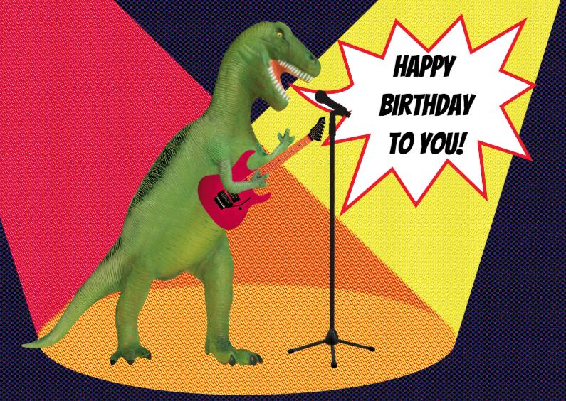 Dino Rocker Birthday 1