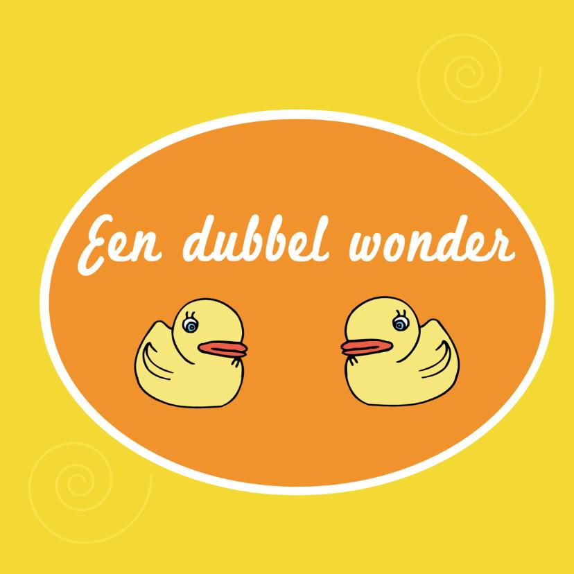 Een dubbel wonder 1