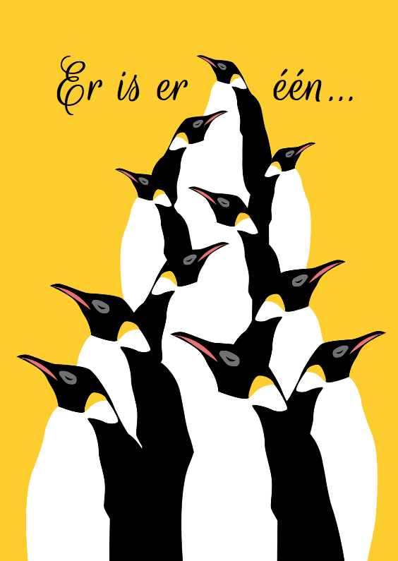 Er is er een jarig - pinguins 1
