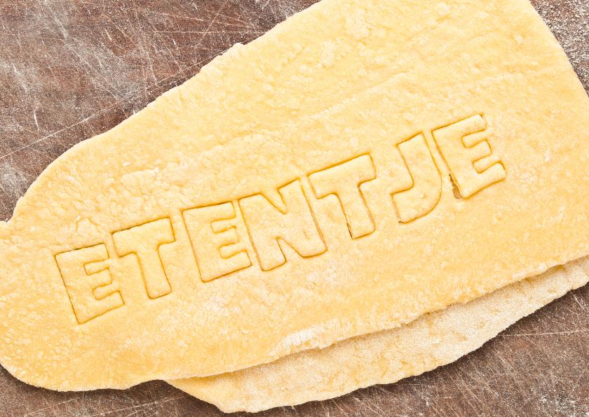 ETENTJE op pasta deeg 1