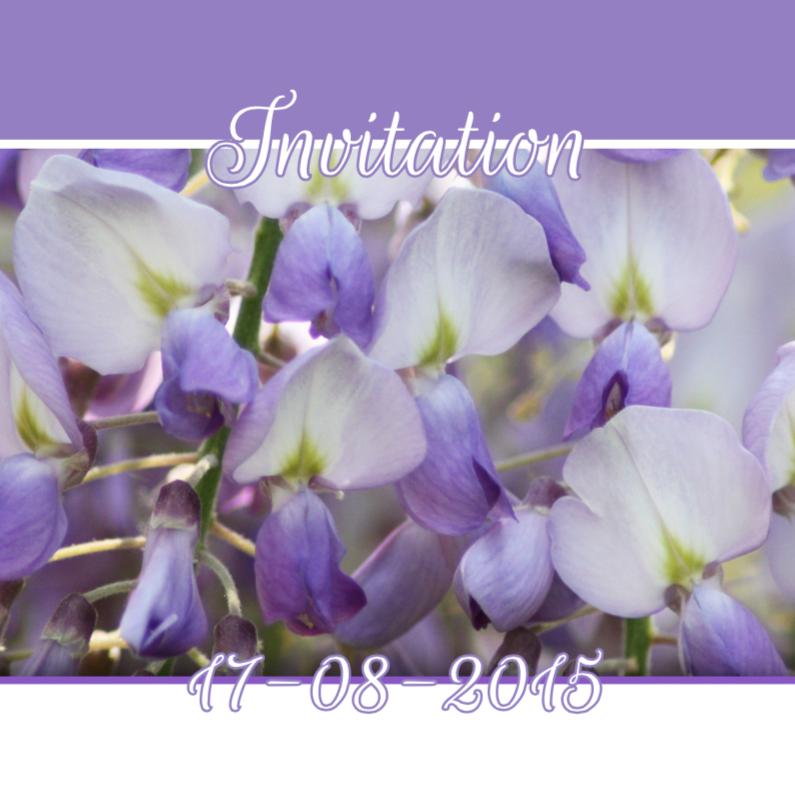 Feest bloemen zelf invullen b 1