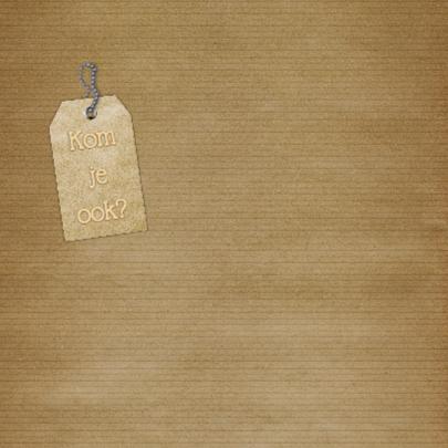 Feest vintage papier b 2