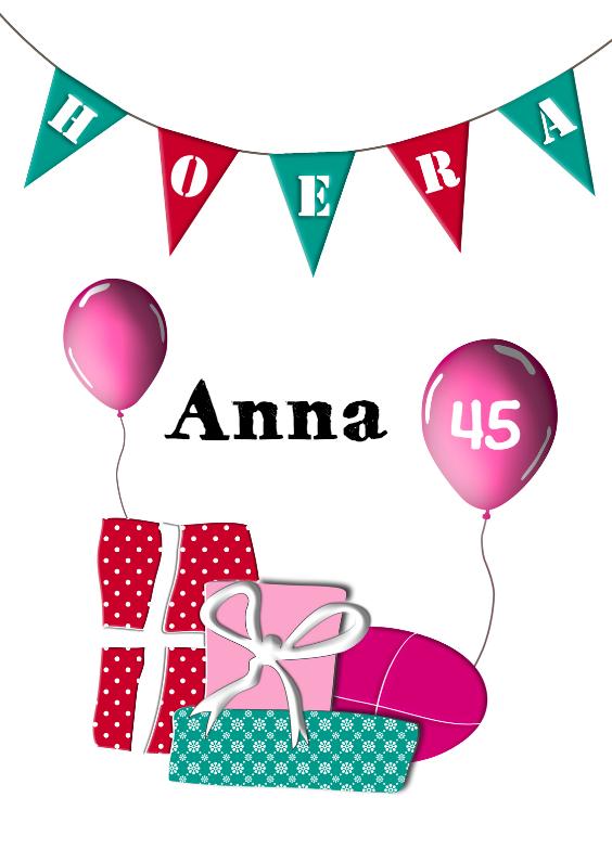 Feestelijke verjaardag 2 1