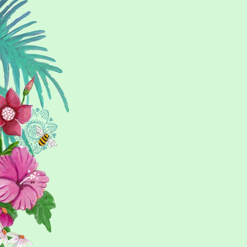 Feestje Bloemen VLINDERS zelf aanpassen 2