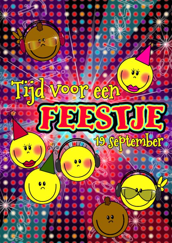 FEESTJE! smileys S 1