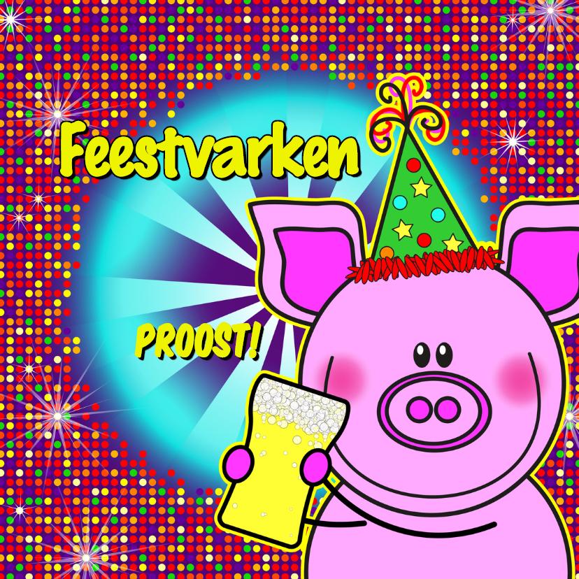 FEESTvarken PROOST disco biertje 1