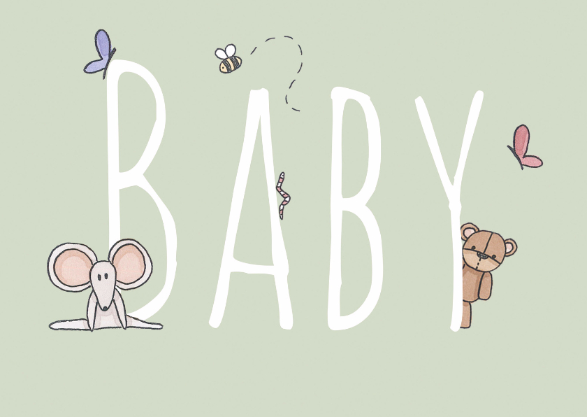 Felicitatie Baby - LFZ 1
