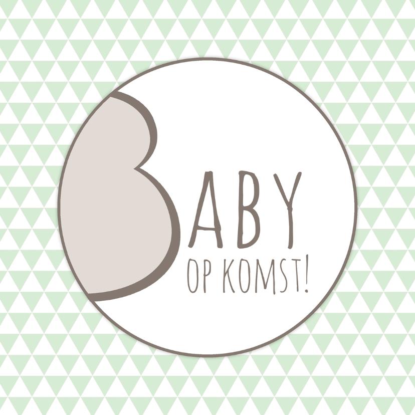 Felicitatie Baby op komst - WW 1