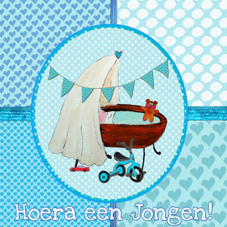 Felicitatie geboorte jongen PA 1