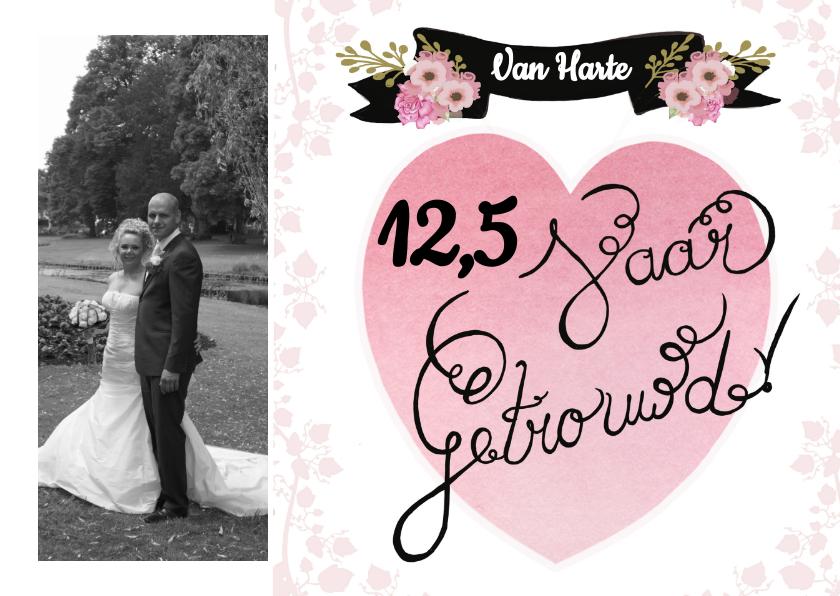 Felicitatie getrouwd jubileum 1