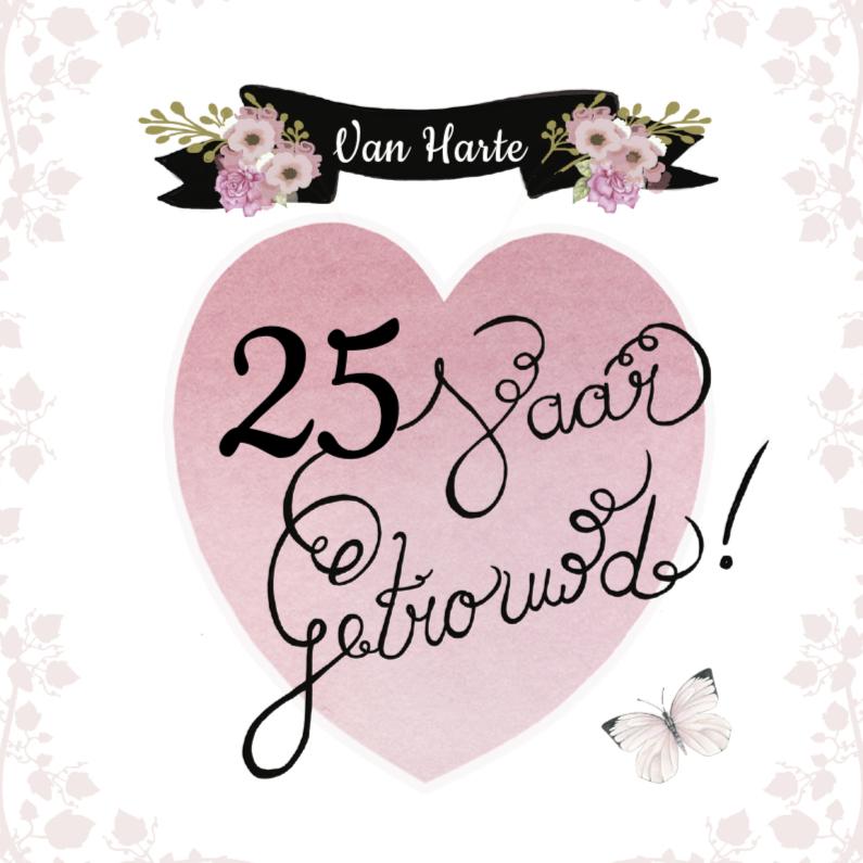 Felicitatie huwelijk hart tekst felicitatiekaarten