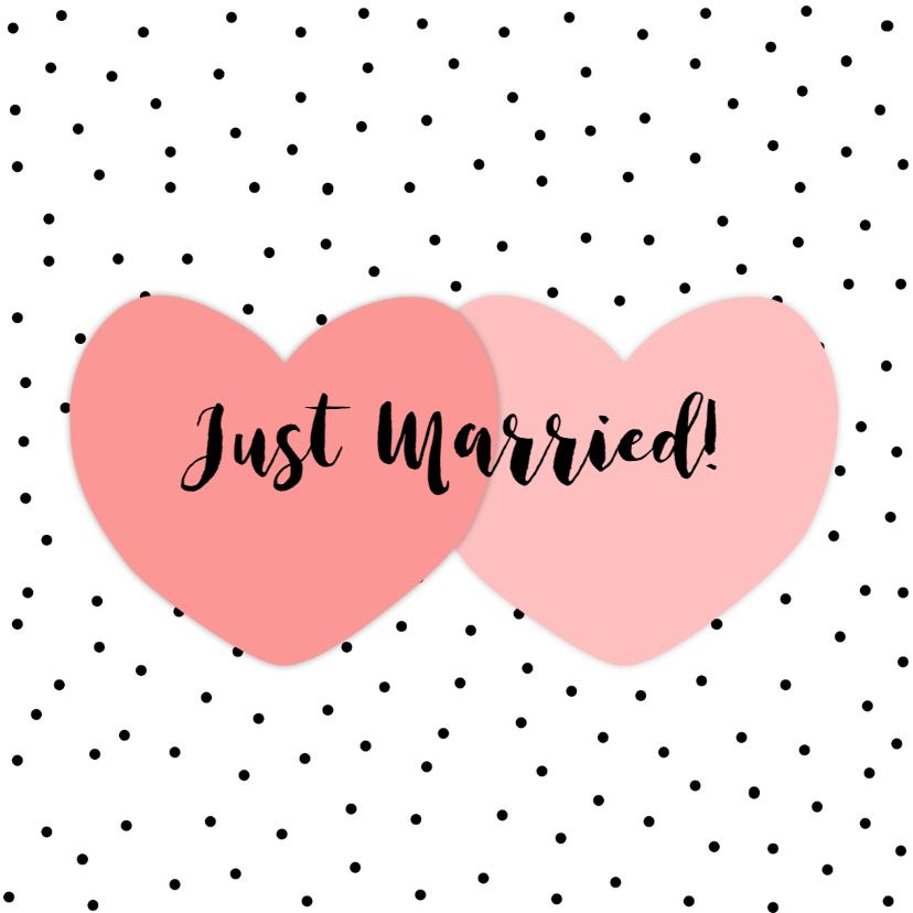 Felicitatie Huwelijk Hart - WW 1