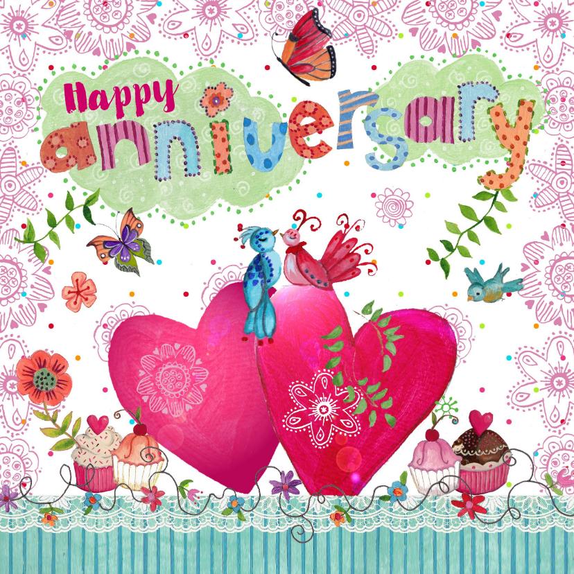 Felicitatie Huwelijksjubileum Hartjes 1