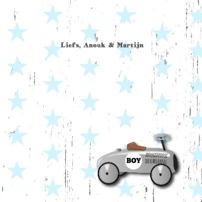 Felicitatie jongen loopauto 3