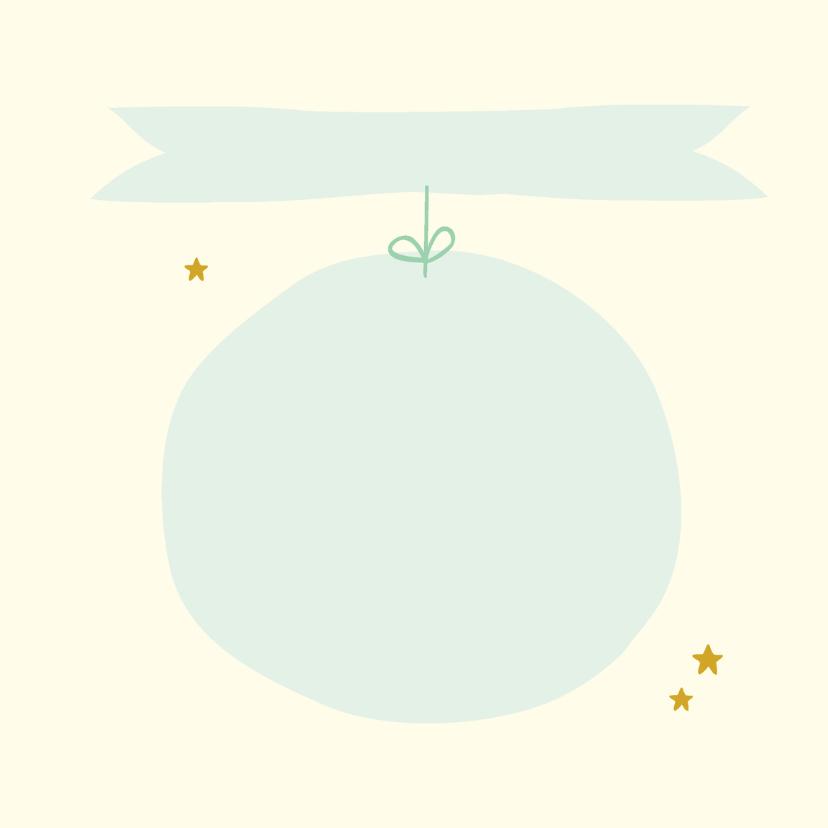 Felicitatie jongen wolk sterren 3
