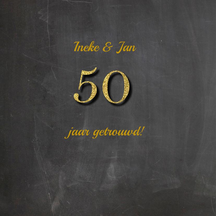 Felicitatie jubileum vijftig 2