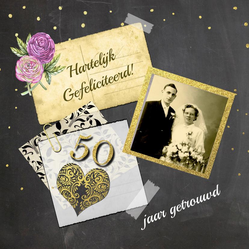 Felicitatie jubileum vijftig 1
