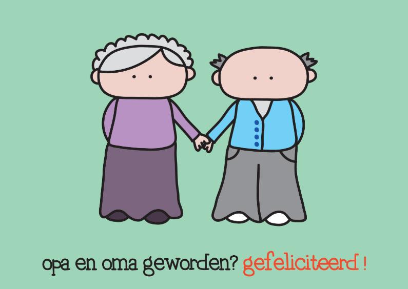 Felicitatie Kleinkind Opa en Oma 1