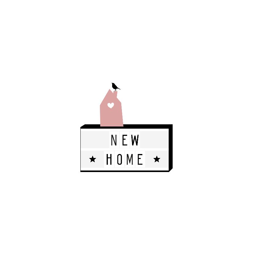 Felicitatie - Lightbox, huis 2