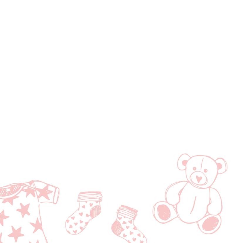 Felicitatie meisje tekeningen 2