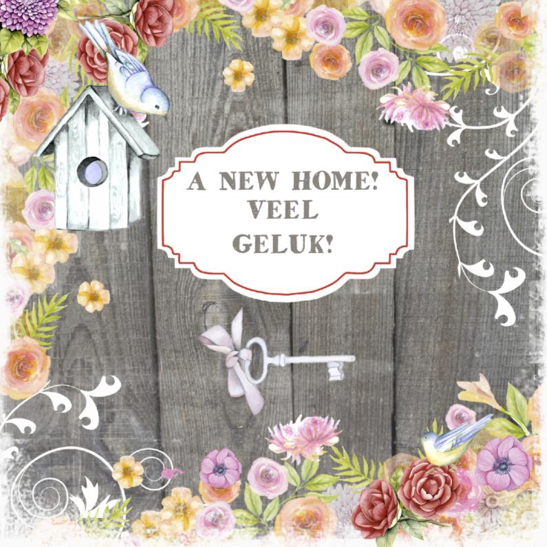 felicitatie new home vogelhuisje 1