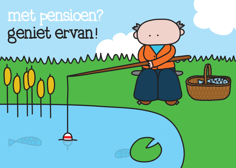 Felicitatie Pensioen Vissen 1