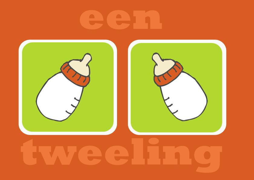 Felicitatie tweeling 1