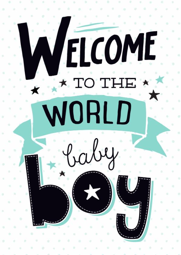 Felicitatiekaart Baby boy-99 1