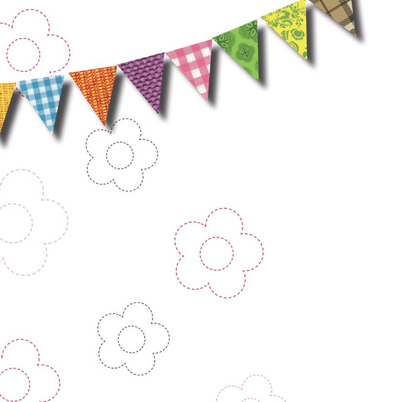 Felicitatiekaart - bloemen 2