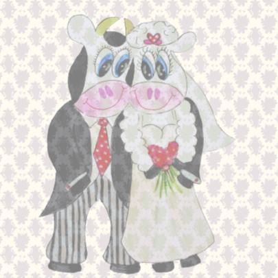 Felicitatiekaart Just Married PA 2