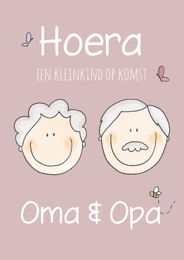 Felicitatiekaart Opa en Oma LFZ 1