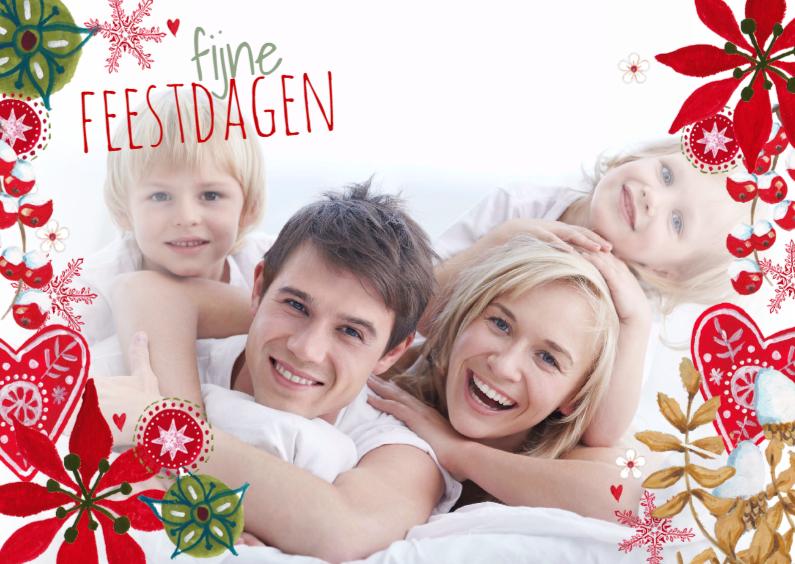 Fijne kerst Eigen Foto RAND Landscape 1