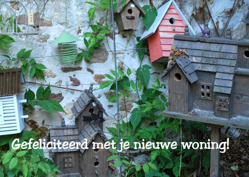 Fotokaart huisjes av 1