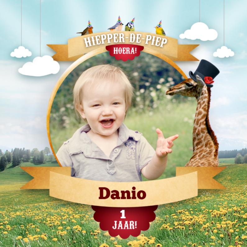 Fotokaart - Magical Circus - Giraffe 1