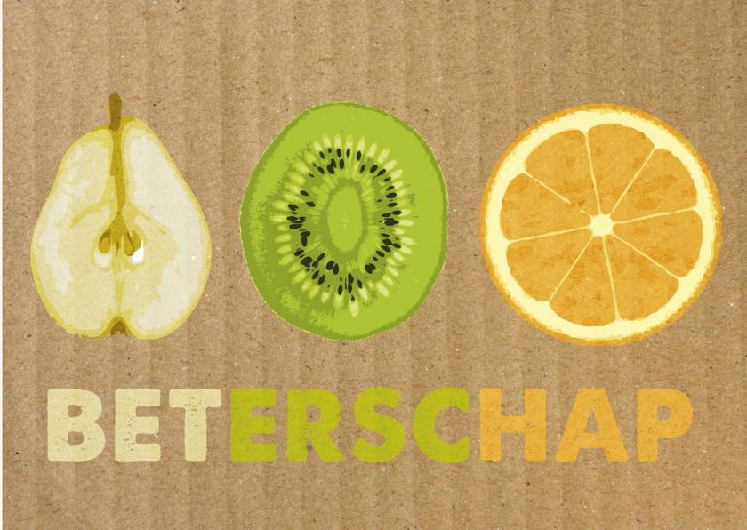 fruitkaart, beterschap 1