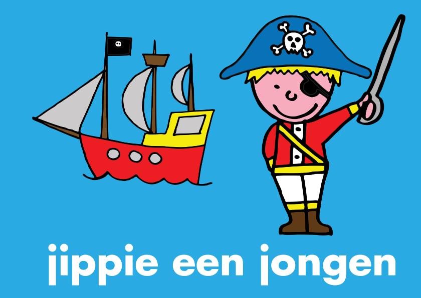 geboorte baby felicitatie piraat 1