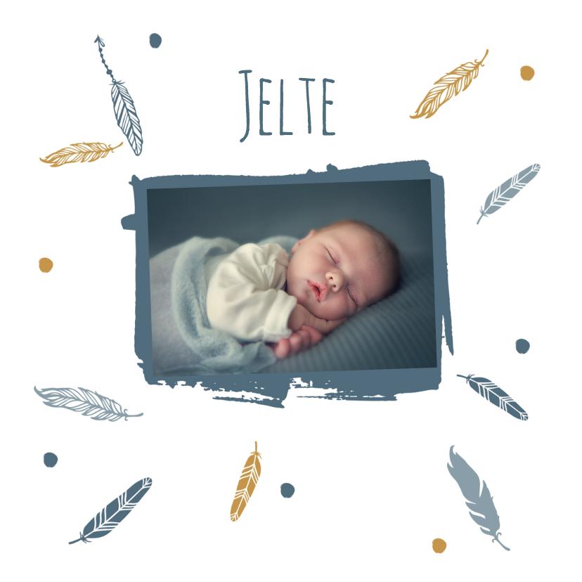 Geboorte foto Jelte - B 1