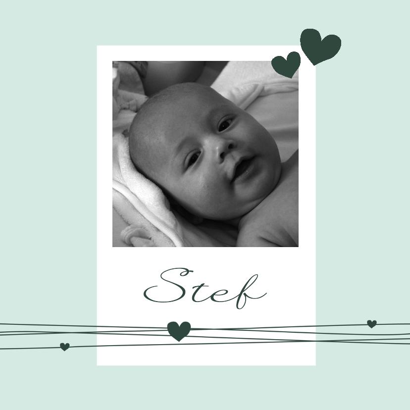 Geboorte - Foto, jongen, hart 1
