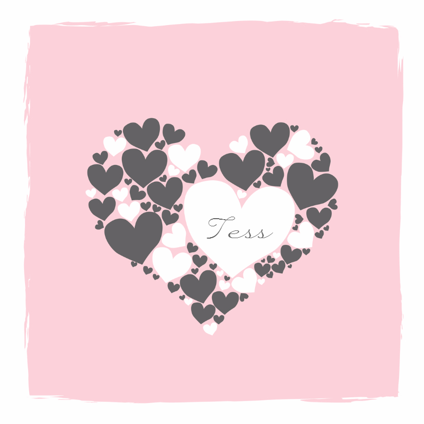 Geboorte - Harten hart meisje 1