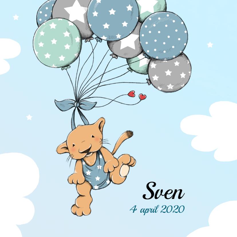 Geboorte leeuwtje ballonnen - IH 1