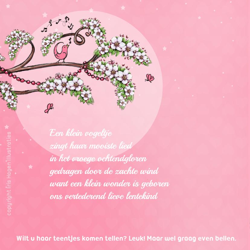 Geboorte lente bloesem roze - IH 2
