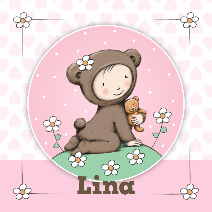 Geboorte meisje beer - IH 1