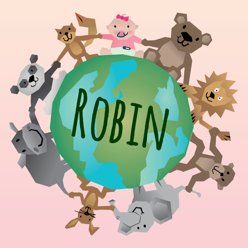 Geboorte meisje - Dierenwereld 1