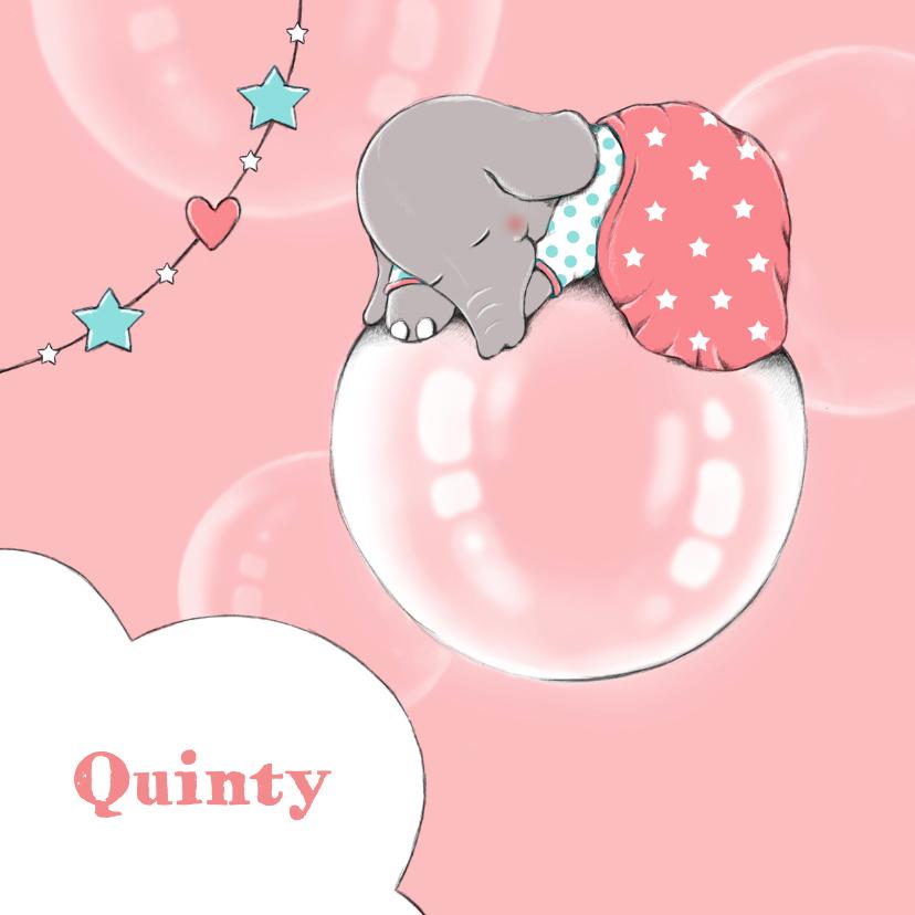 Geboorte olifant droom - IH 1