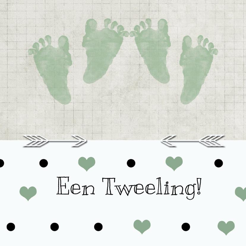 Geboorte tweeling stip 1