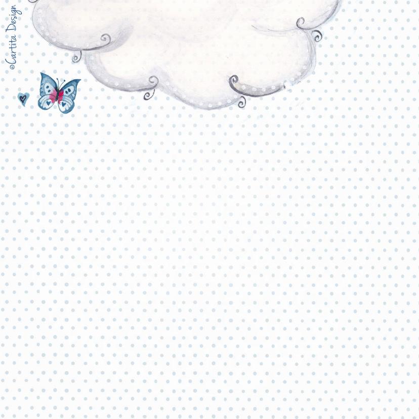 Geboorte Waslijn Jongen Wolken 2