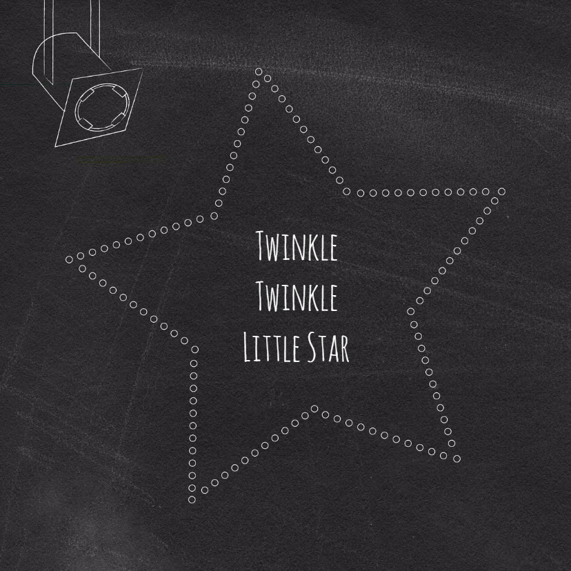 Geboortekaart a new star 2
